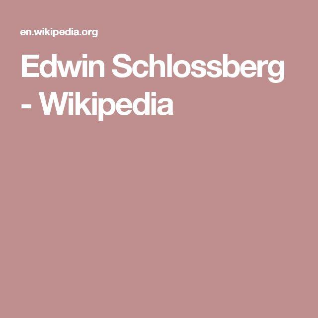 Edwin Schlossberg - Wikipedia