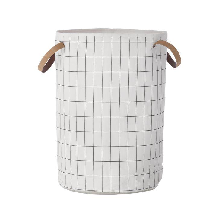 Grid tvättkorg - Grid tvättkorg - vit
