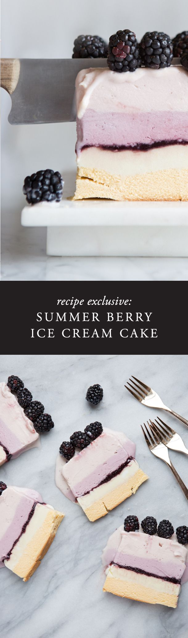 This ice cream cake is so easy and perfect for a hot summer day. Made with local…