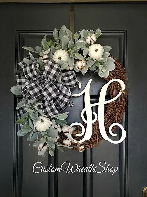 Gorgeous wreaths for Autumn