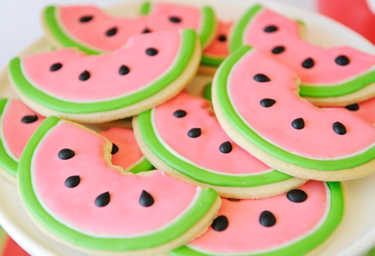 Project Nursery - Watermelon Sugar Cookies