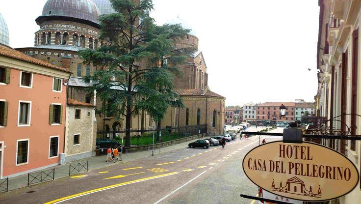 Hotel Casa del Pellegrino e Basilica del Santo