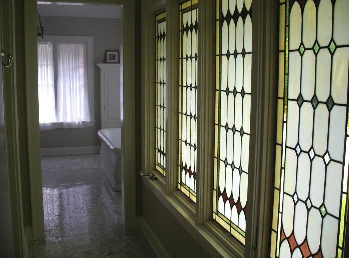 Tudor Style Windows | tudor style casement windows these tudor style art  glass panels .