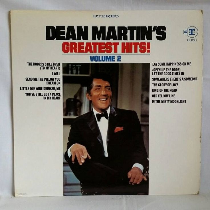 Dean Martin Vintage Vinyl LP - Greatest Hits Volume 2 - 1969 LP