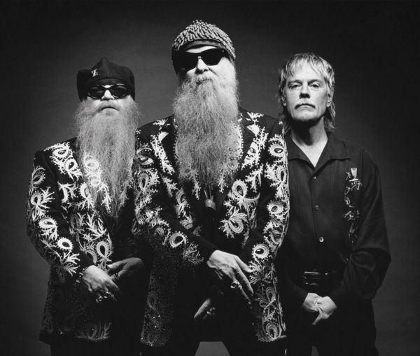 ZZ Top -- Billy Gibbons and company headlined one of Eric Clapton's Crossroads Guitar Festivals.  Enough Said!