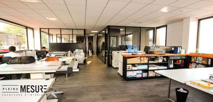 Agencement bureau d coration pleinemesure interieur nos agencements boutiques - Agencement bureau ontwerp ...