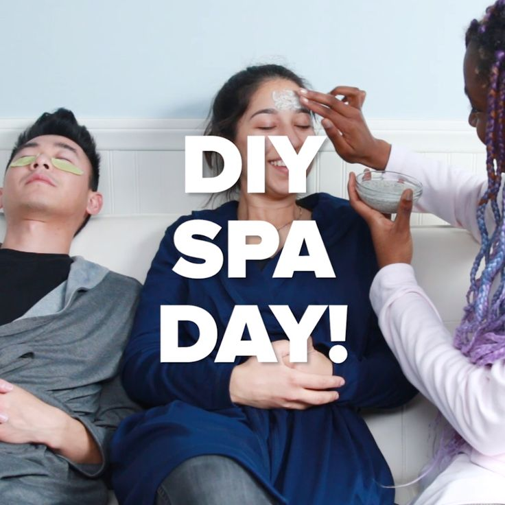 You Deserve This DIY Spa Day