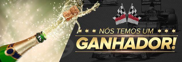 Após 4 semanas de emoção e de muitas expectativas, temos o prazer de anunciar o ganhador da competição do GP de Mônaco de #Fórmula1