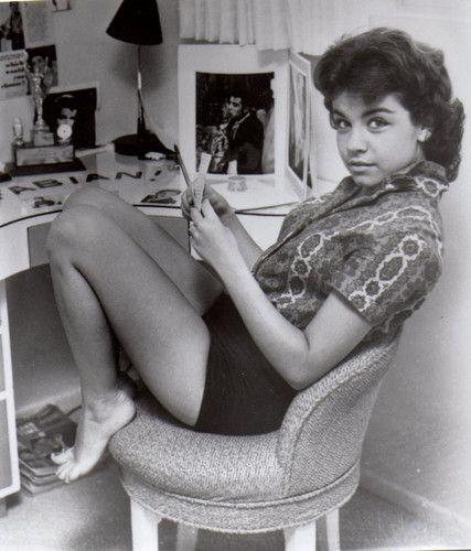 ANNETTE FUNICELLO 8x10 Photo 1950's Teen Sensation  | eBay