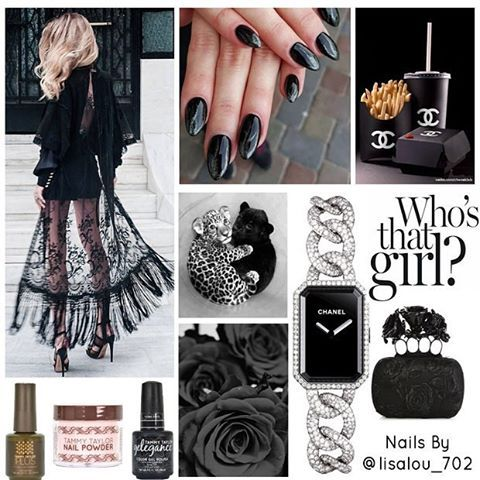 This weeks Who's That Girl is @lisalou_702 :two_hearts::nail_care::sparkles: