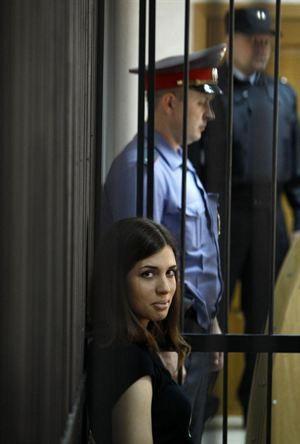 El marido de la Pussy Riot Tolokonnikova no sabe nada de ella, según Europa Press.
