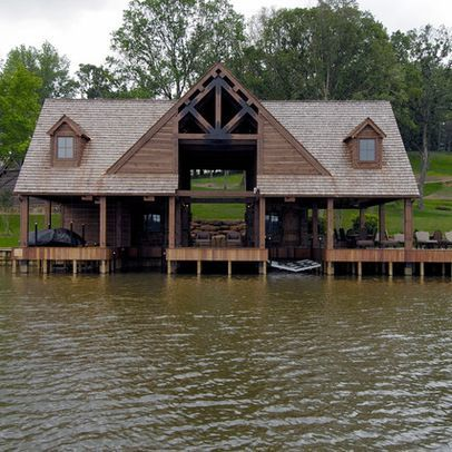 pond dock house ideas | Boat Dock | cat outdoor deco spring summer ...