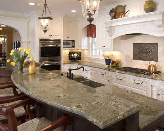Traditional Kitchen Rounded Bar Design, Pictures, Remodel, Decor And Ideas    Page 2 Part 95