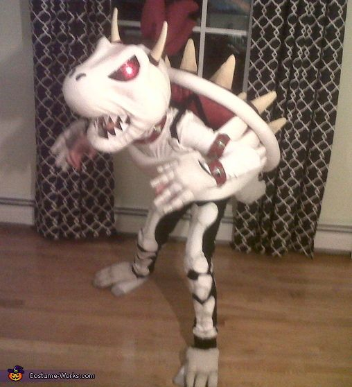 Dry Bowser Costume - 2013 Halloween Costume Contest via @costumeworks