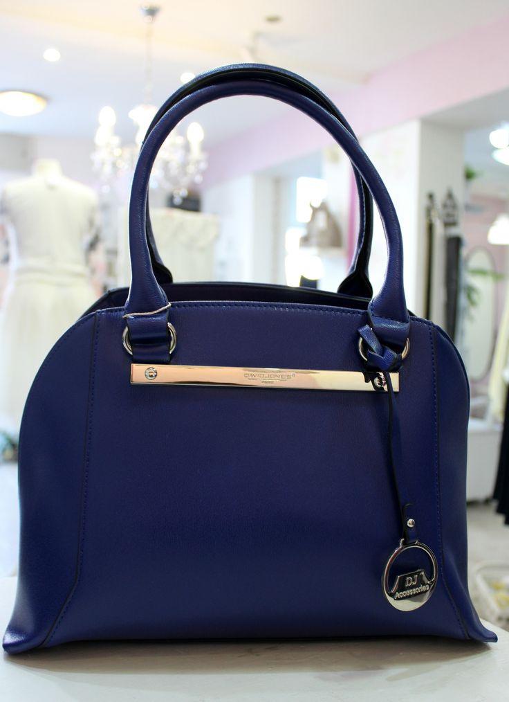 David Jones royal blue bag