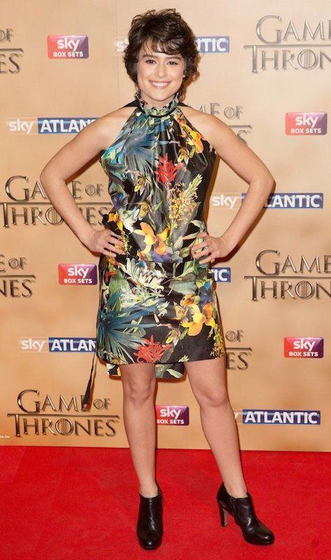 Rosabell Laurenti Sellers at Game of Thrones Season 5 premiere...