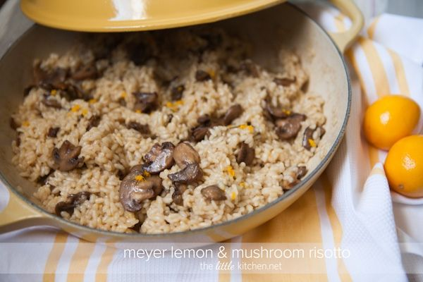 Meyer Lemon and Mushroom Risotto | Favorite Recipes | Pinterest