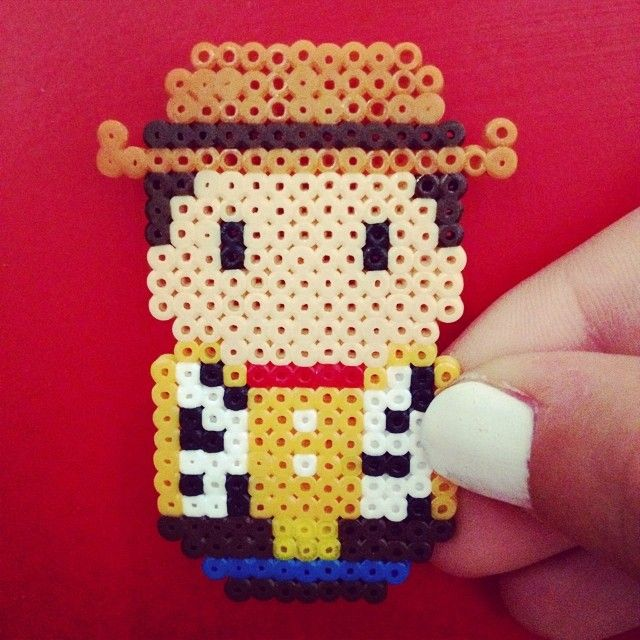 Woody Toy Story hama mini beads by adictaalarisa