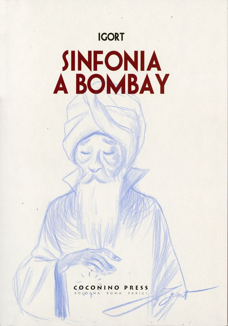 Igort. January 2015. Bombay Dedicace.