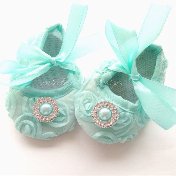 Hey, I found this really awesome Etsy listing at https://www.etsy.com/listing/179511977/baby-crib-shoes-mint-baby-shoes-baby