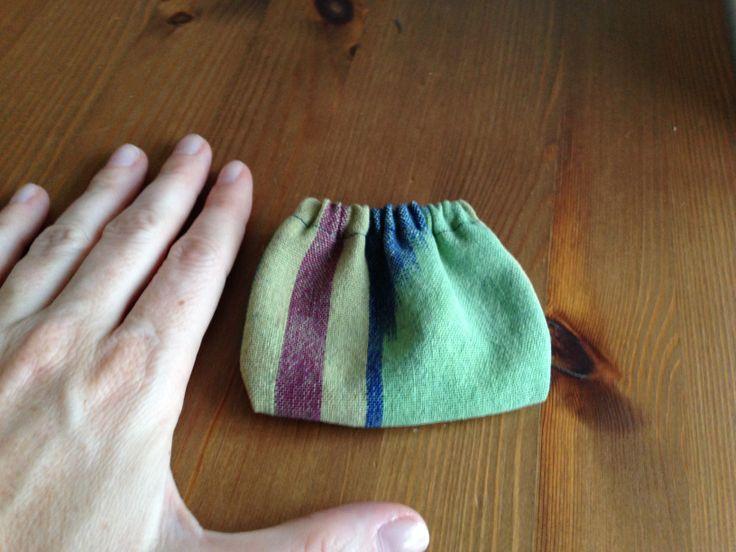 Een speenzakje, waar de speen schoon en zonder pluisjes mee in je tas kan.