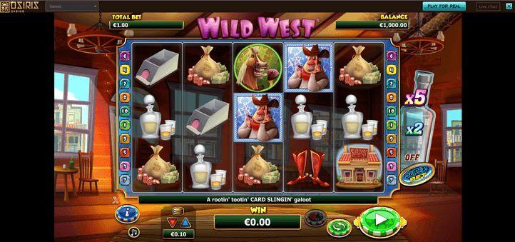 Osiris Casino Spiele