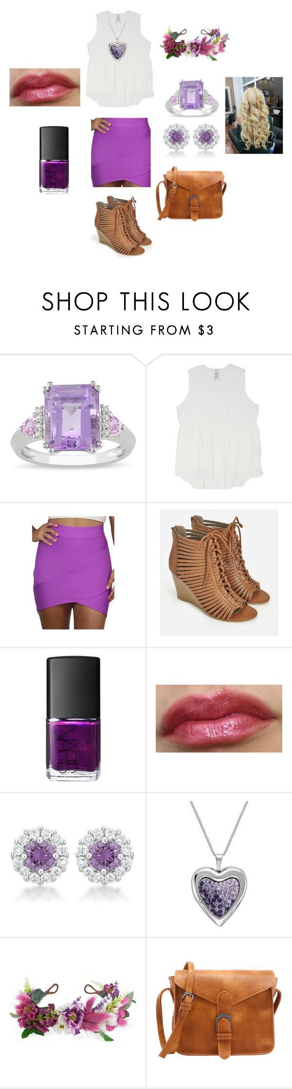 """You are the daughter of Rapunzel"" by shamlesslychic-dcxxi ❤ liked on Polyvore featuring beauty, Ice, Melissa McCarthy Seven7, JustFab, NARS Cosmetics, Rock 'N Rose and plus size clothing"