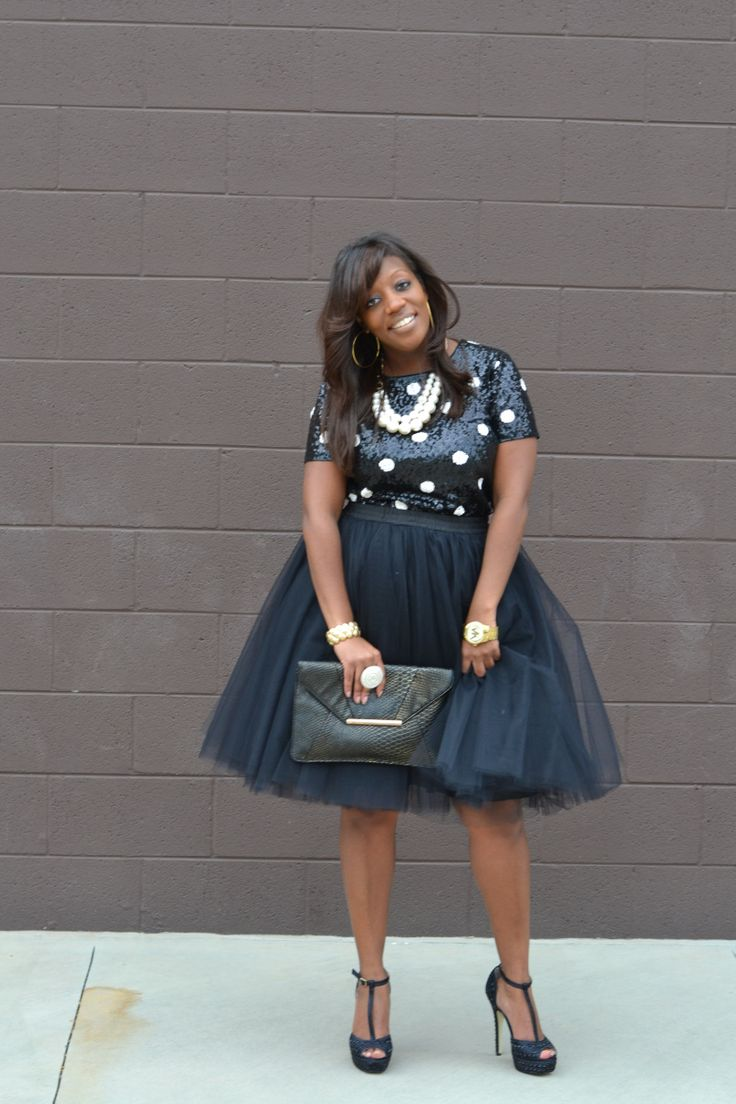 tulle skirt - holiday party looks | clothes whore. | pinterest