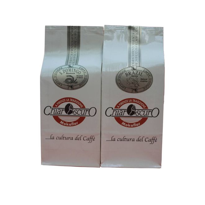 Café en grano Tropical 500 grs. ChiarOscuro.