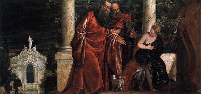 Η Σουζάνα και οι γέροι. (1585~88)