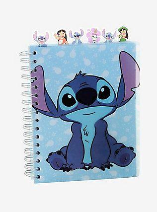 Disney Lilo & Stitch Journal With Tabs,