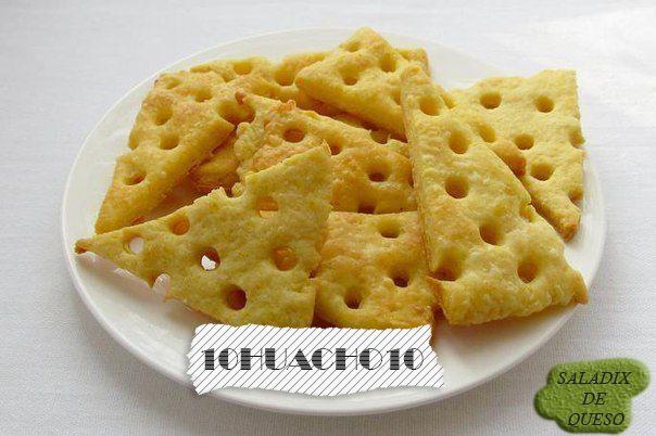 Saladix caseras de queso (Las mejores) - Taringa!