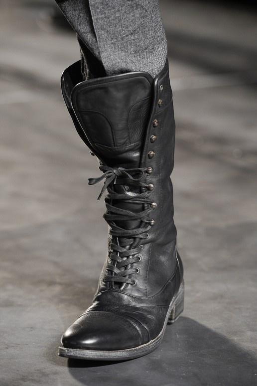 John Varvatos #boots #leather