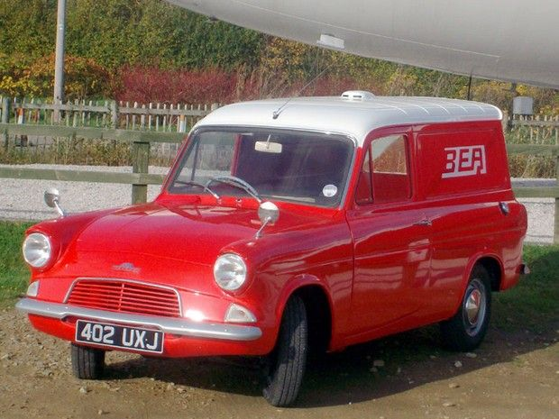 1963 Ford Thames 307E Van in British European Airlines livery