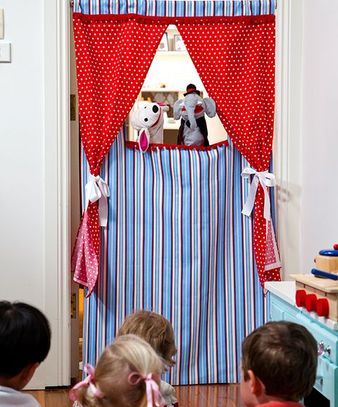 How to make a puppet theatre: Let little imaginations run wild by raising the curtains on their indoor productions.