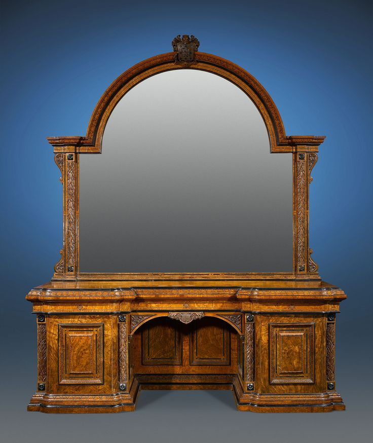 Pollard Oak Sideboard Signed F. Thomas, Circa 1840 ~ Victorian Antique  Furniture, Edwardian - 147 Best Exceptional Antique Furniture Images On Pinterest