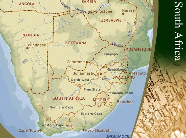 Pinnacle Point South Africa Map