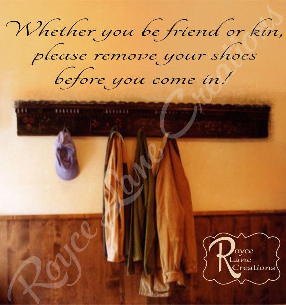 Remove Shoes Decal 3 Vinyl Remove Shoes by RoyceLaneCreations, $17.50
