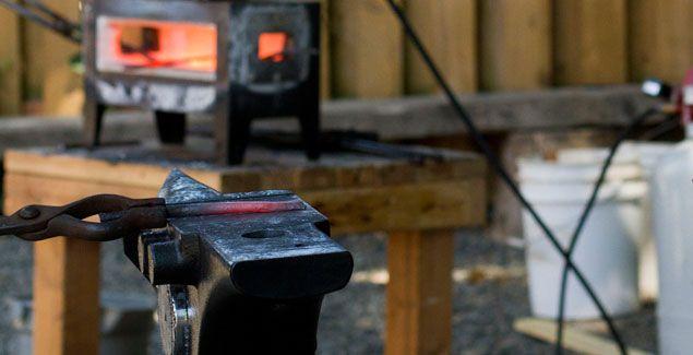 Apprenticeship of the Blade: Blacksmith a Knife Camp | Portland, Oregon