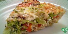 Low carb vegetable quiche  #diet #diät