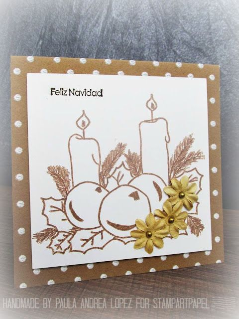 PLISSA ADD by Paula Andrea López A.: RETARTE #65 - CHRISTMAS IS HERE - THE STAMPING BOU...