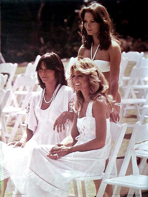 Farrah Fawcett, Jaclyn Smith & Kate Jackson