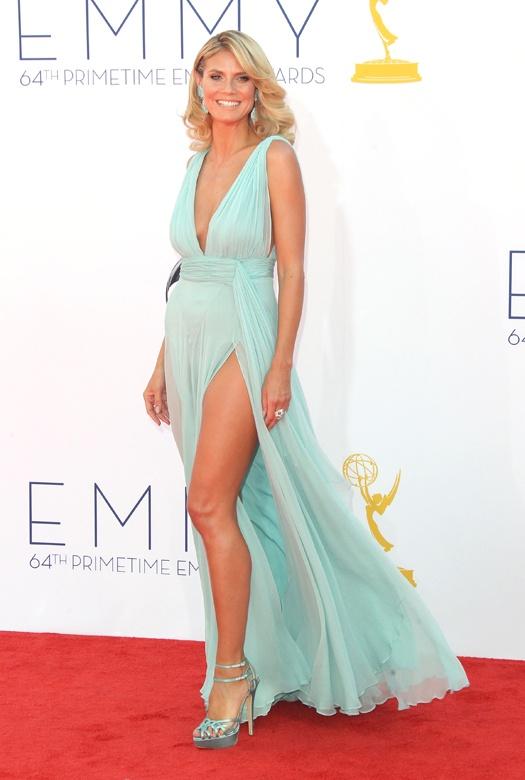Emmy 2012: платья звезд  Хайди Клум