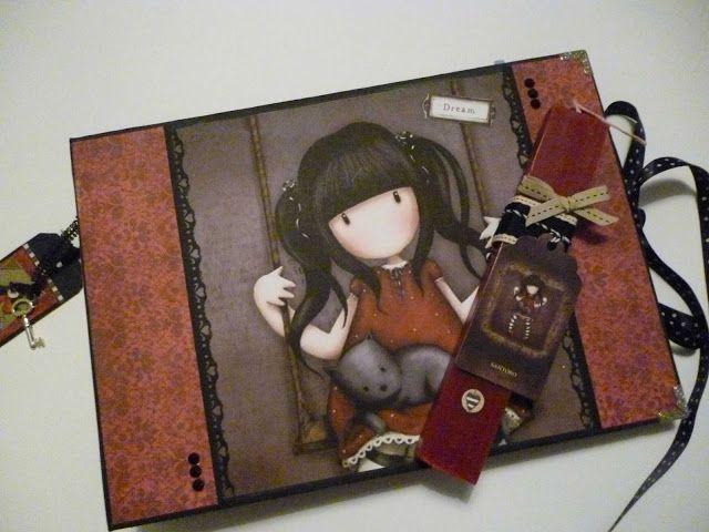 Irene & Nicki Crafts: Handmade Gorjuss Album and Easter Candle    ...
