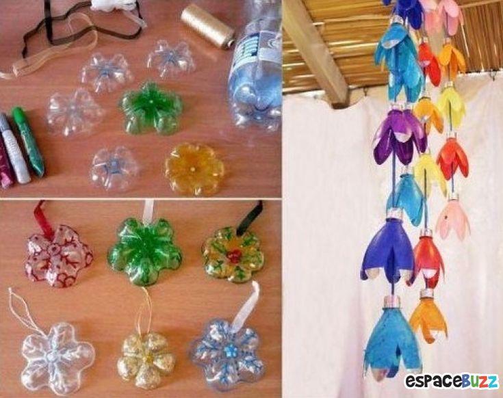 17 Id Es Propos De Recycler Bouteilles En Plastique Sur