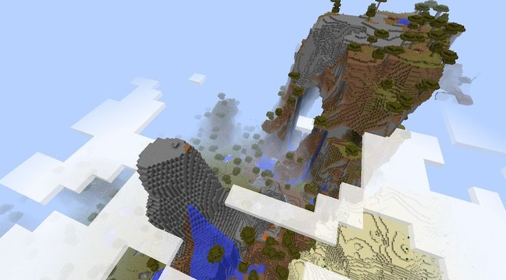 Savanna M Seed [1.8] - Above the Clouds...  http://epicminecraftseeds.com/sweet-savanna-m-above-the-clouds-minecraft-1-8-seed/