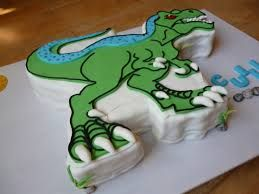 pasteles de dinosaurios -