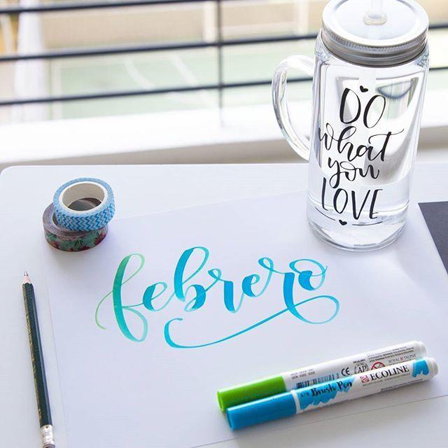 February! Every day has a new beginning, a new blessing and a new hope!  Cada día tiene un nuevo comienzo, una nueva bendición y una nueva esperanza!  #february