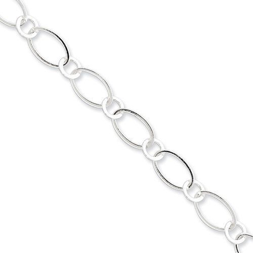 Sterling Silver 7.5inch Fancy Link Bracelet Sterling Silver Collection. $38.00