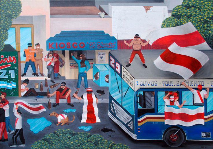 Paintings - Martin Gordopelota